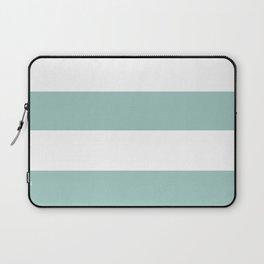 Maine Ocean Cabana Stripes Laptop Sleeve