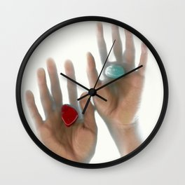 Reality / In The Palm Of Your Hand Wall Clock
