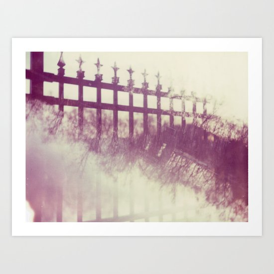 Interstice Art Print