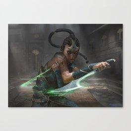 MTG Murderous Cut - Exclusive Print Canvas Print