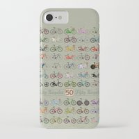 brompton iPhone & iPod Cases featuring Bicycle by Wyatt Design