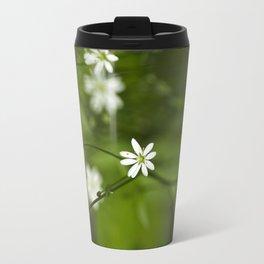Chickweed Wildflowers Travel Mug