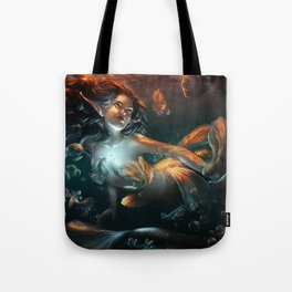 Heart of a Mermaid Tote Bag
