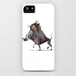 warthog iPhone Case