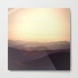 Smokier Mountain Metal Print
