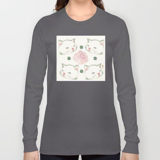 Cat's Waltz 고양이 왈츠 Long Sleeve T-shirt