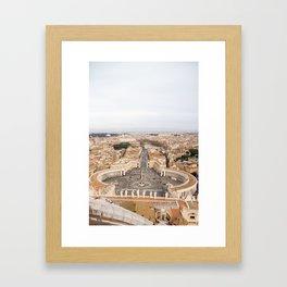 Egeria Framed Art Print