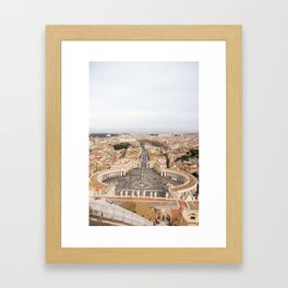 Egeria Framed Art Print