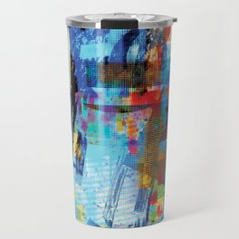 Pixilated Travel Mug