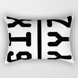 6IX YYZ Rectangular Pillow