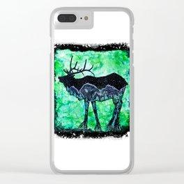 Elk Mountain Clear iPhone Case