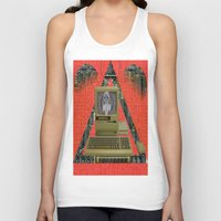 contact Tank Tops featuring CONTACT by N3GATIVE CR33P