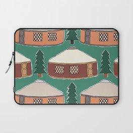 Cozy Yurts -n- Pines Laptop Sleeve