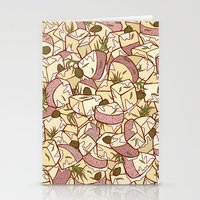 potato Stationery Cards featuring Potato Salad by Raewyn Haughton
