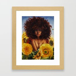 Pollinate Framed Art Print