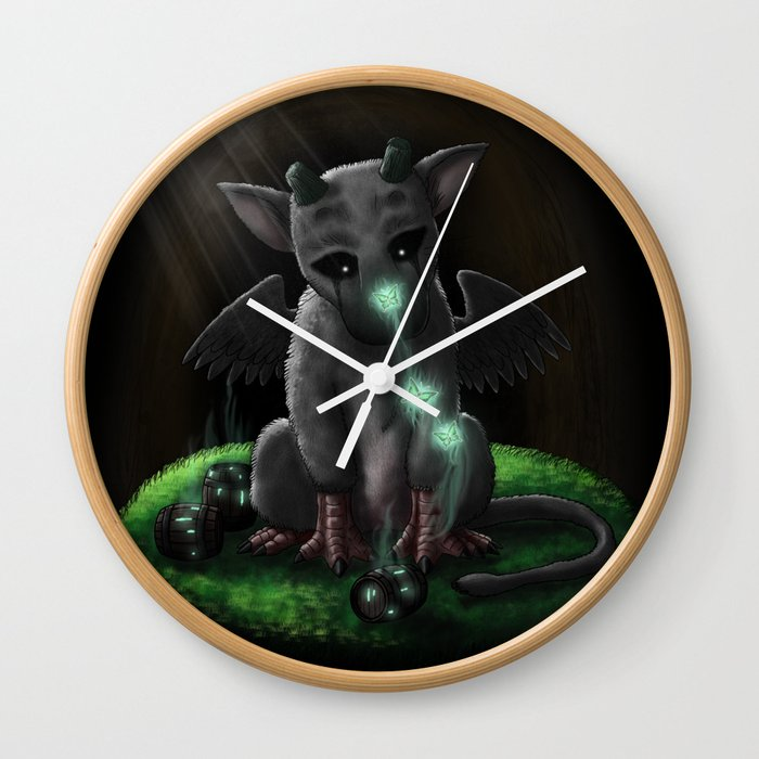 Trico (トリコ, Toriko) - The Last Guardian Wall Clock by juaniglesiasart