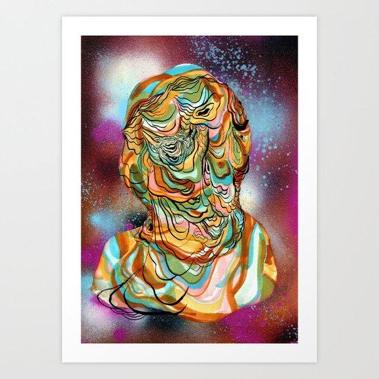 space ooze Art Print