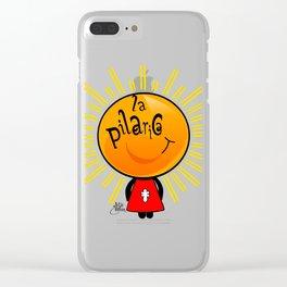 la pilarica Clear iPhone Case