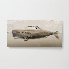 the Buick of the sea - sepia Metal Print
