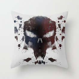 Ink Devil Throw Pillow
