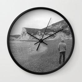 Durdle Door Beach England Wall Clock