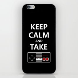 Keep Calm and Take Control iPhone Skin