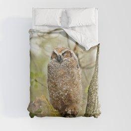 Sleeping in the Rain Comforters