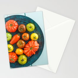 Various heirloom tomatoes Stationery Cards