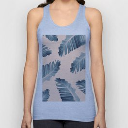 Tropical Banana Leaves Dream #7 #foliage #decor #art #society6 Unisex Tank Top