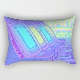 Midnight Arcade Rectangular Pillow