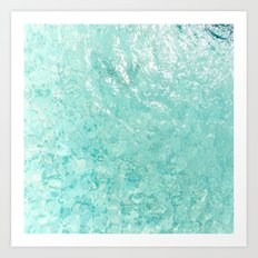 Pool Floor Art Print