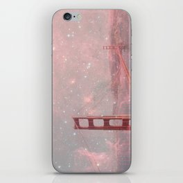 Stardust Covering San Francisco iPhone Skin