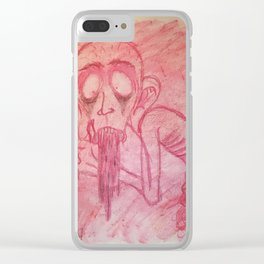 rotten man 2 Clear iPhone Case