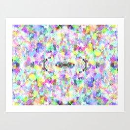 Abstract Confetti Art Print
