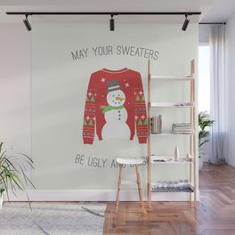 Ugly Sweater Wall Mural