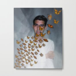 Migración Monarca - Monarch Migration Metal Print