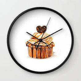 Caramel Delight Wall Clock