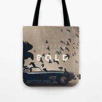 ferrari Tote Bags featuring Ferrari by Seventy Two Studio