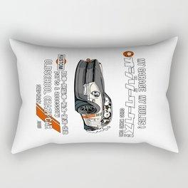 Crazy Car Art 0125 Rectangular Pillow