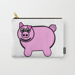 Stuffed Pig Carry-All Pouch