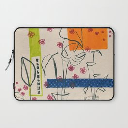 Japanese canteen -line drawing leaves #7 Laptop Sleeve