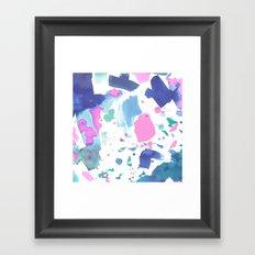 Watercolor Splash 2 Framed Art Print