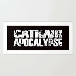 Cathair Apocalypse LOGO Art Print