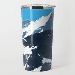 swiss mountains Travel Mug
