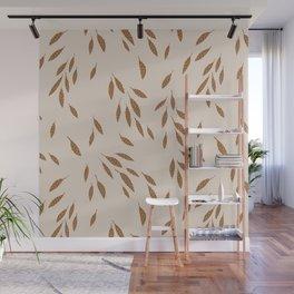FALLING LEAVES Wall Mural