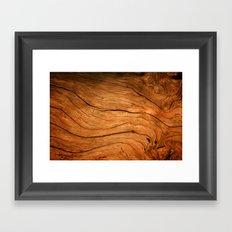 Wood Texture 99 Framed Art Print