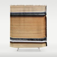 books Shower Curtains featuring Books by eARTh