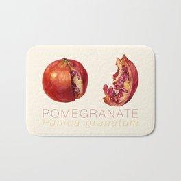 Pomegranate, Punica granatum Bath Mat
