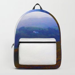 Land of Legends - Blue, Green and Purple Backpack
