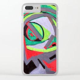 Paint Marker Acrylique/Acrylic Clear iPhone Case